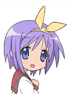 こっち見てる柊つかさ(らき☆すた)