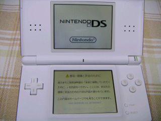 DS Liteの液晶が黄色い