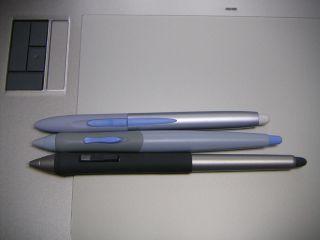 ペンタブのペンの比較