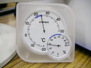 職場の湿度